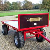 Heavy Duty 4 Wheeled Turntable Trolleys (For Hire)